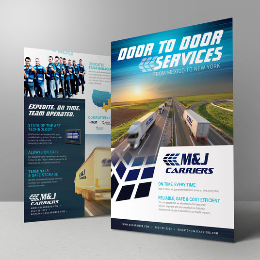 I will Design A Professional Business Brochure, banners, poster And Flyer