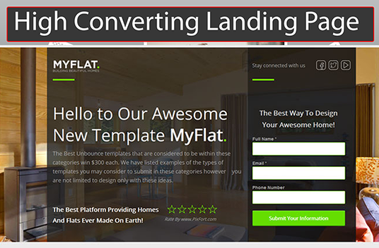 I will Build High Converting Landing Page Or Squeeze Page