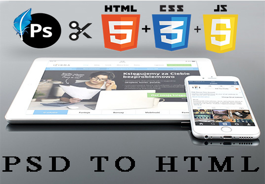 I will Convert PSD To Responsive HTML5 In 24 Hours