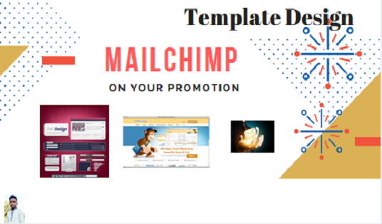 make dynamic mail chimp template with opt in form for your business