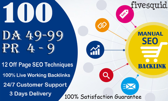 I will Provide 100 Manual High Quality Whitehat SEO Link Building
