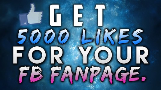 I will Get you 5,000 fans on your Facebook page