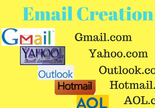 I will create email accounts for you