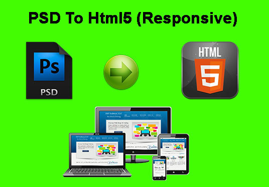 I will convert Psd to Html5/Css3 responsive