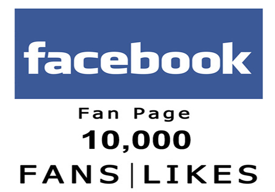 I will add 10,000 Facebook Fanpage Likes