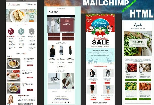 I will Design Responsive MAILCHIMP Email Template