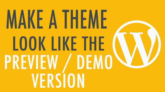 I will install Wordpress theme and setup like demo