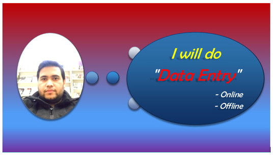 I will do Data Entry, Data Research and Data Analysis