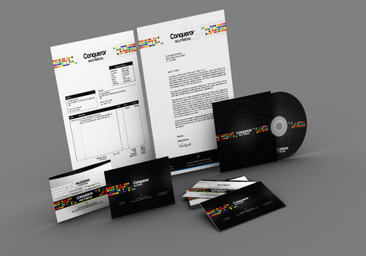 design a stationery pack for your business