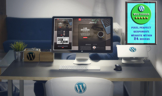 I will Design Responsive wordpress site within 24 hours