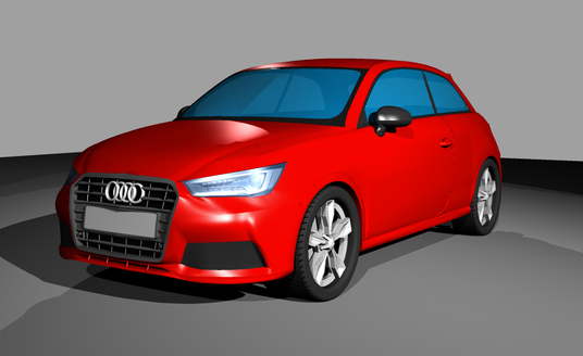 I will produce a 3D model and renders of any technical product