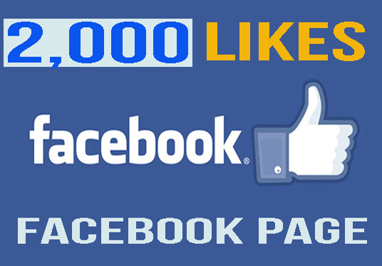 provide 2,000 real and active facebook followers