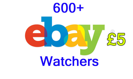 give 600 ebay watchers for any fixed price listings