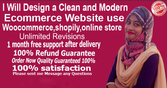 I will build ecommerce website online store in 24 hours