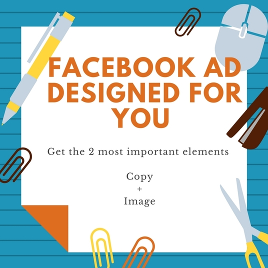 I will create for you a Facebook Ad that will get you shares, comments, likes and converts