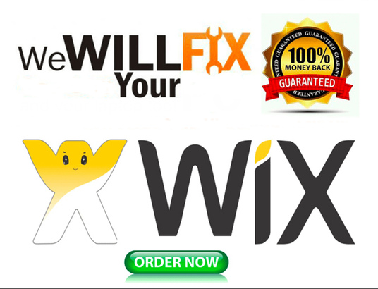 I will Help To Fix Your WIX Website