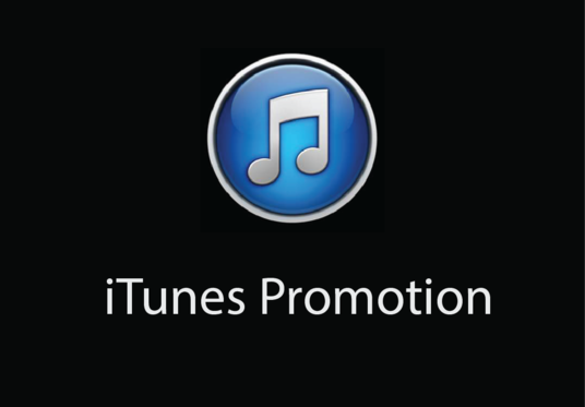 do iTunes promotion with real audience