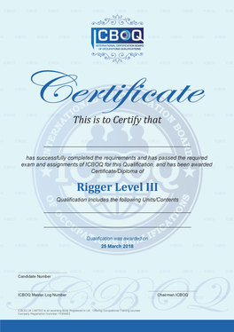 Design Professional Certificate for your Company or Organization