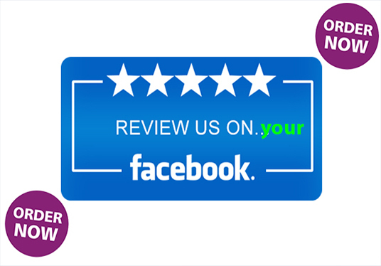 I will give you 10 real facebook review