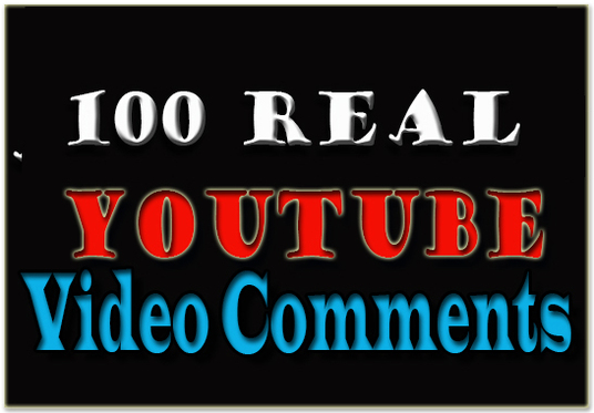 I will give you 100  youtube video comments