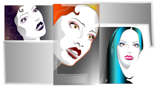 cccccc-do a cool vector art caricature illustration from a photo or create an original one in my style