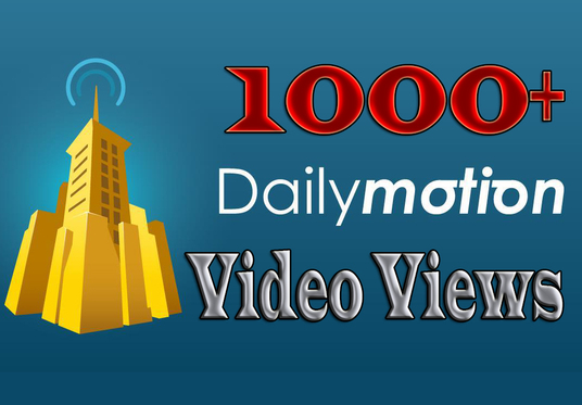 I will Provide 1000+ Dailymotion Video Views