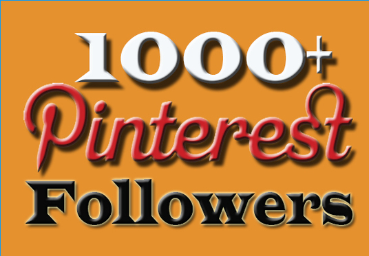 I will Provide  1000 Pinterest Followers