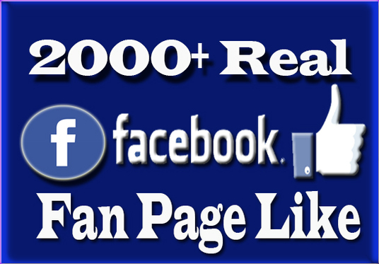 I will Provide you 2000+ Facebook page Followers