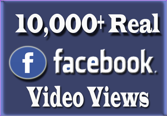 I will Give you 10000+ Facebook Video views