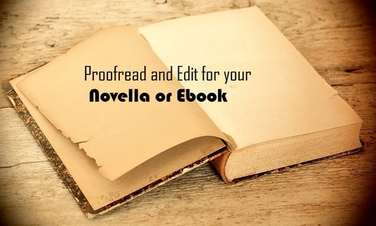 I will expertly proofread and edit your novella or short story up to 8,000 words