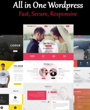 Design And Develop Fast, Secure And Responsive Wordpress Website