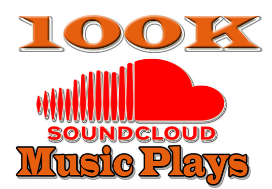 I will Give you 100K SoundCloud Plays