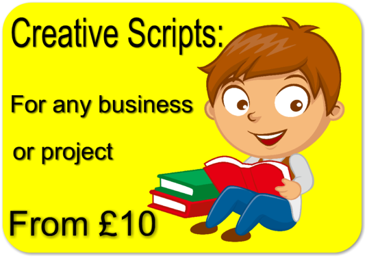 I will write a script for your business or project
