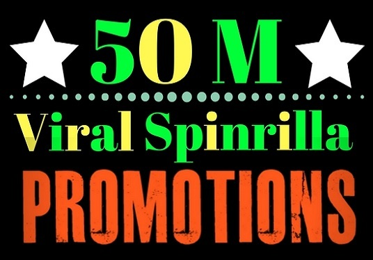 I will do viral spinrilla promotion
