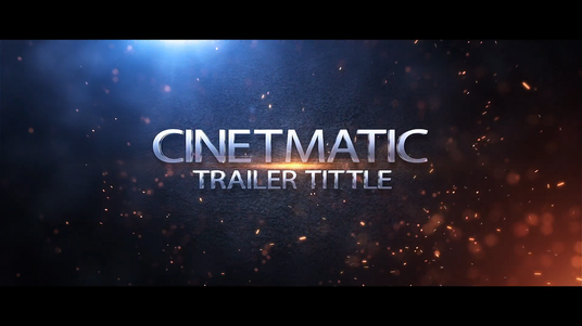 create this cinematic trailer