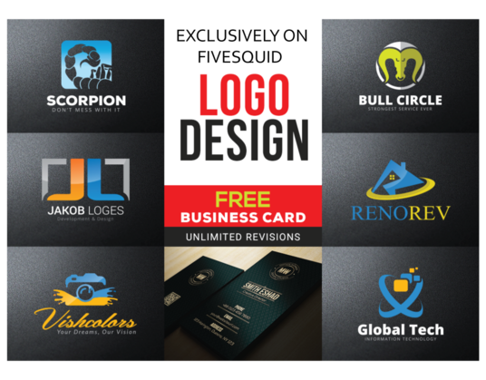 I will Design  logo with free business card for your brand