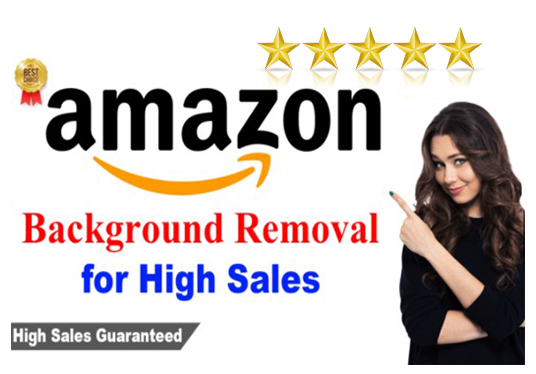Do 20 Amazon Product Images, Photo Editing, Background Removal