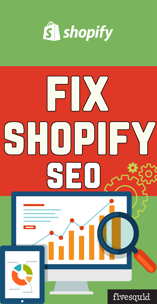 I will Fix Shopify SEO Issues