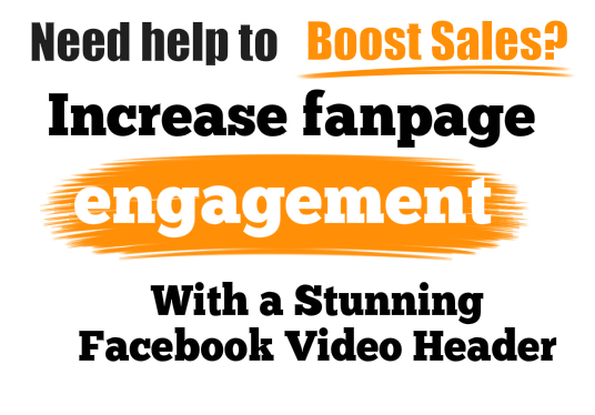 I will create a professional facebook business page video header