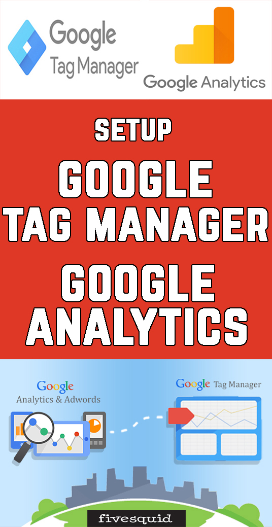 I will Setup Google Tag Manager with Google Analytics