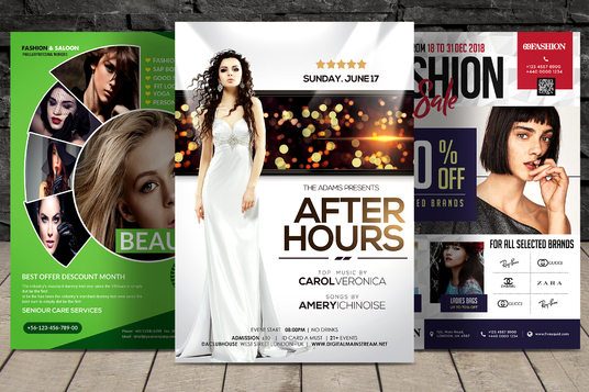 I will Design Outstanding Flyers, Brochure and Poster