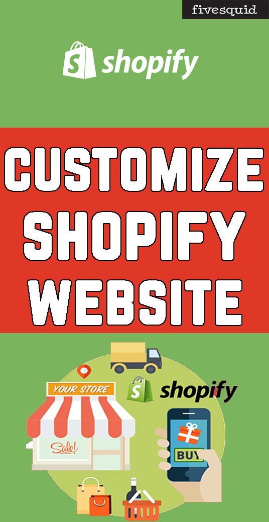 I will Create And Customize Your Shopify Website, Shopify Store