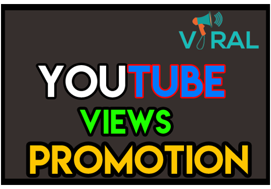 I will promote Youtube views