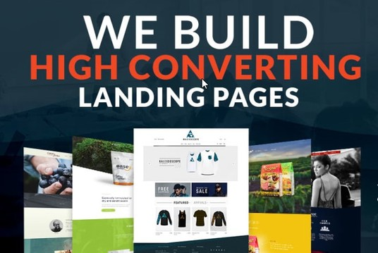 Create Professional Landing Page or Squeeze Page