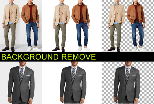 professionally REMOVE Background from any 10 images