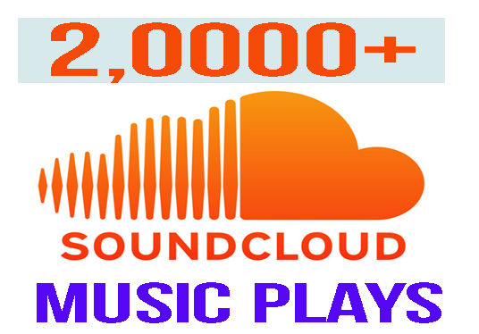 I will provide 2,0000 Soundcloud music plays