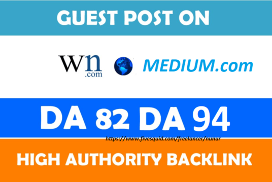 publish guest post on WN and MEDIUM