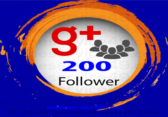 Add 200 Followers to your Google plus Page
