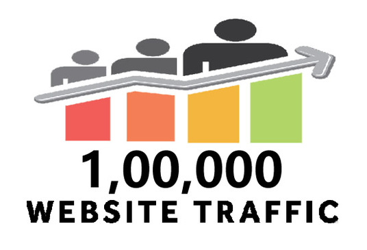 I will increase 100,000 website traffic or visitors