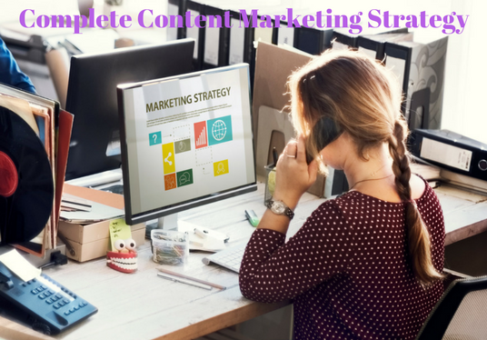I will create a comprehensive content marketing strategy for your business